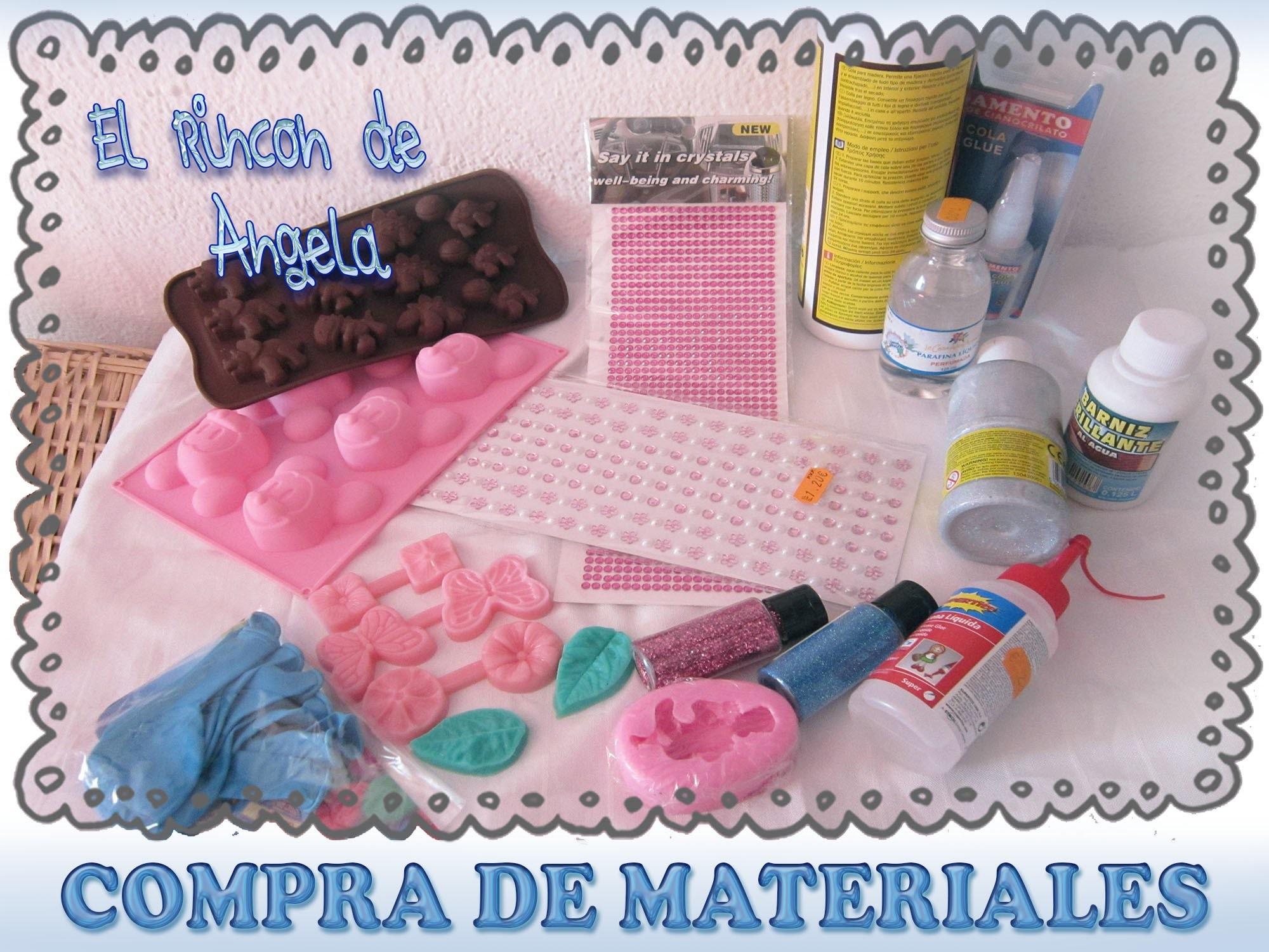 DIY Compras de material para manualidades