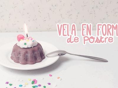 DIY: VELAS EN FORMA DE POSTRE ♥