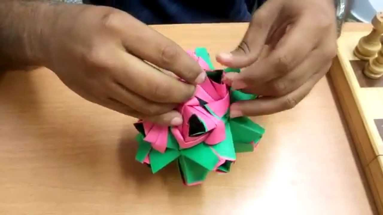 Ejemplo de Origami Modular