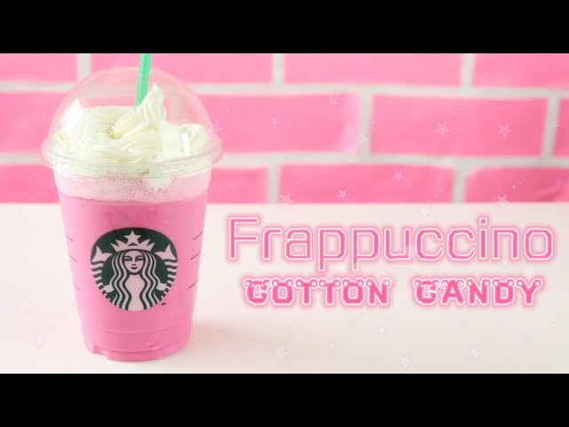 Frappuccino Algodón De Azúcar | STARBUCKS | Cotton Candy