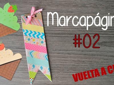 Haz tus propios marcapáginas #02 - DIY