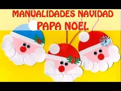 Manualidades de Navidad: Santa Claus   Papa Noel