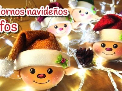 Manualidades para Navidad: Adornos navideños ELFOS - Innova Manualidades