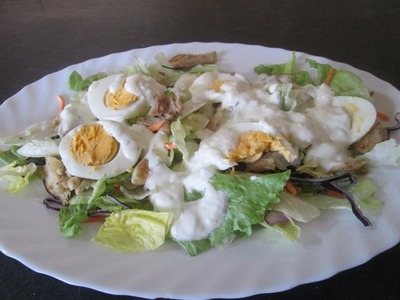 Receta: Ensalada Fresca De Pollo Y Salsa De Yogur - Silvana Cocina Y Manualidades