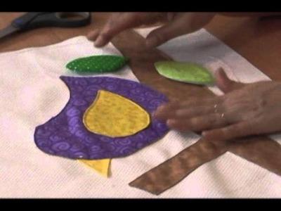 Sonia Franco. Programa Nuestra Casa. Juego de baño con pajaritos  3.5