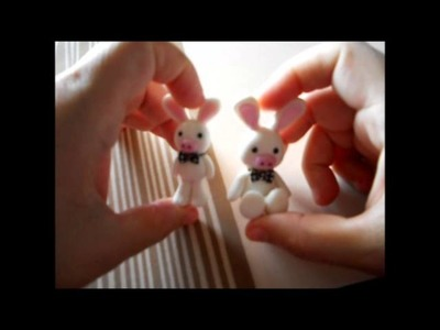 ♥♥ Tutorial: Cerdito Conejo en Porcelana Fría del Dorama You´re Beautiful y más.  ♥♥