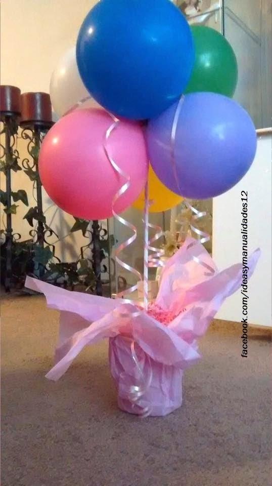 Arreglos de mesa para cumpleaños