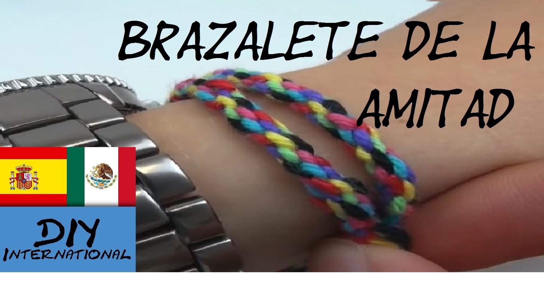 CÓMO HACER BRAZALETES - PULSERAS DE LA AMISTAD - FRIENDSHIP BRACELET - TUTORIAL EN ESPAÑOL - DIY