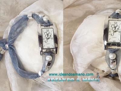Como hacer pulseras para relojes, 1 parte