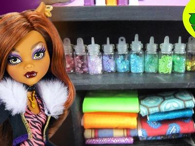 Cómo hacer un paquete de tela  para el cuarto de diseño de tus muñecas