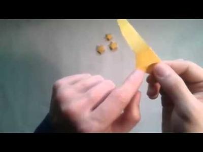 Como hacer una estrella de papel origami lucky star  [Origami - Papiroflexia]