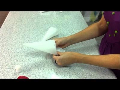 Como hacer una manga pastelera