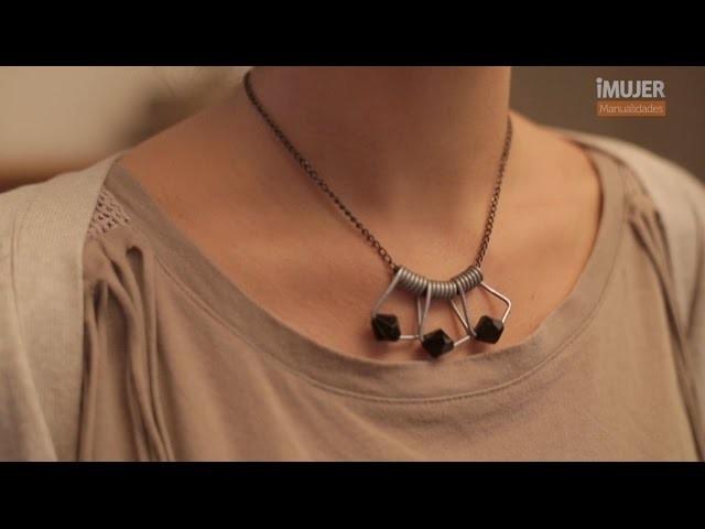 Cómo transformar pinzas de ropa en un accesorio original