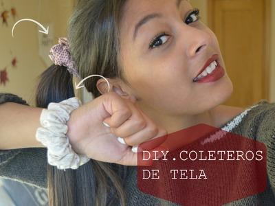 DIY COLETEROS DE TELA- Fácil y Rápido lGabriela Ro