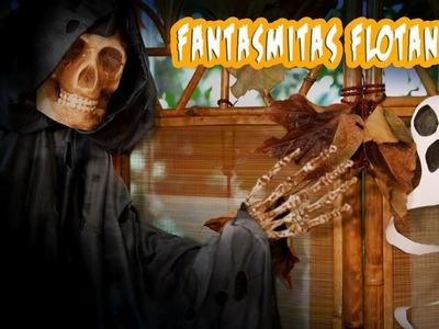 Fantasmas Espirales Colgantes, Decoracion de Halloween