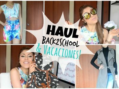 Haul Back to class! Y VACACIONES!- Pautips