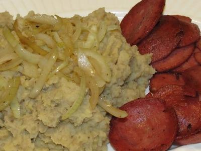 Mangú comida Dominicana - Recetas de cocina - RECETAS FÁCILES Y RÁPIDAS