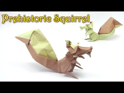 Origami Squirrel by Sergio L. Guarachi V. - Yakomoga Origami tutorial