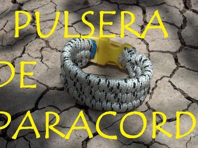 PULSERA PARACORD DE SUELTA RAPIDA
