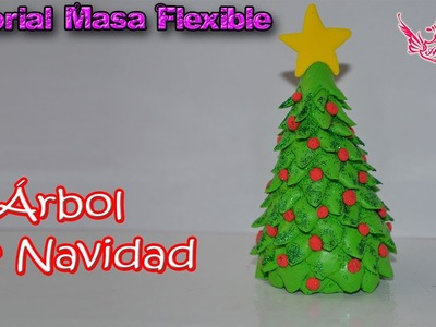 ♥ Tutorial: Árbol de Navidad de Masa Flexible ♥