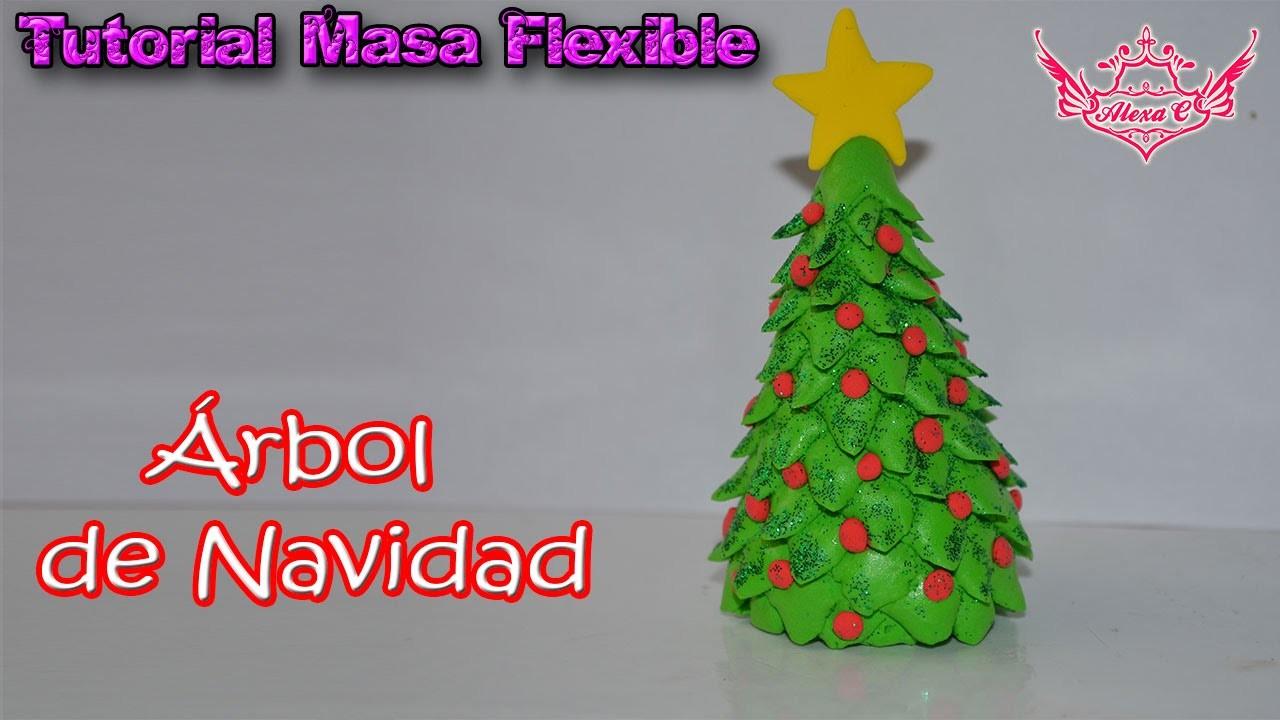 Tutorial rbol de navidad de masa flexible - Tutorial arbol de navidad ...
