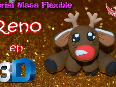 ♥ Tutorial: Reno en 3D de Masa Flexible ♥