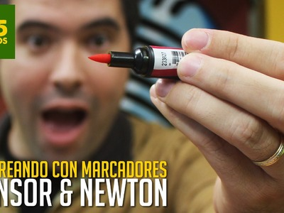 COLOREANDO CON MARCADORES WINSOR AND NEWTON - MATERIALES DE ARTE  -  WINSOR AND NEWTON Review