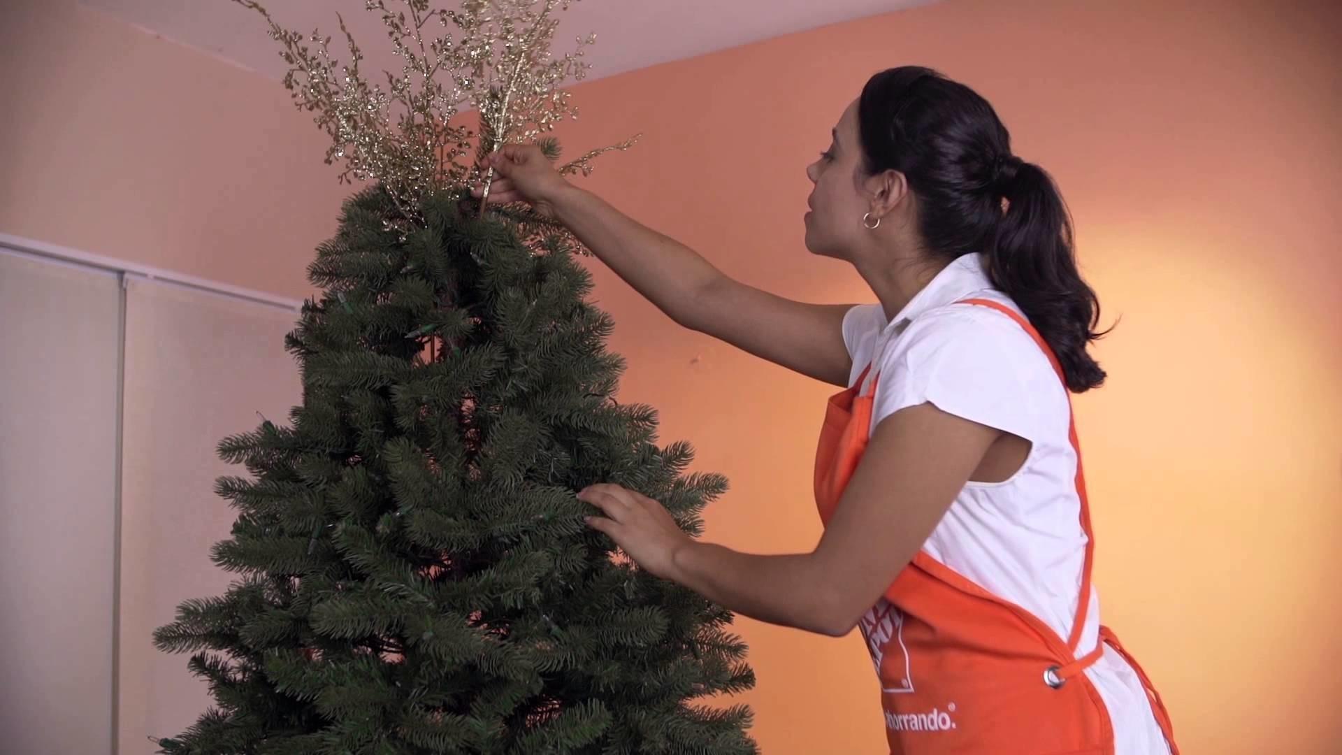 Cómo decorar tu pino de navidad
