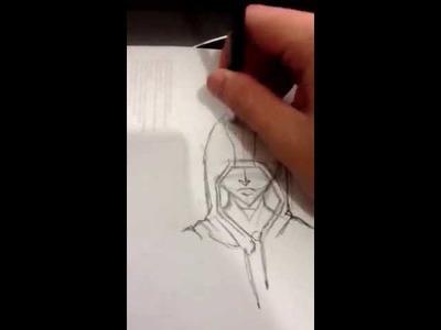 Como dibujar un personaje encapuchado