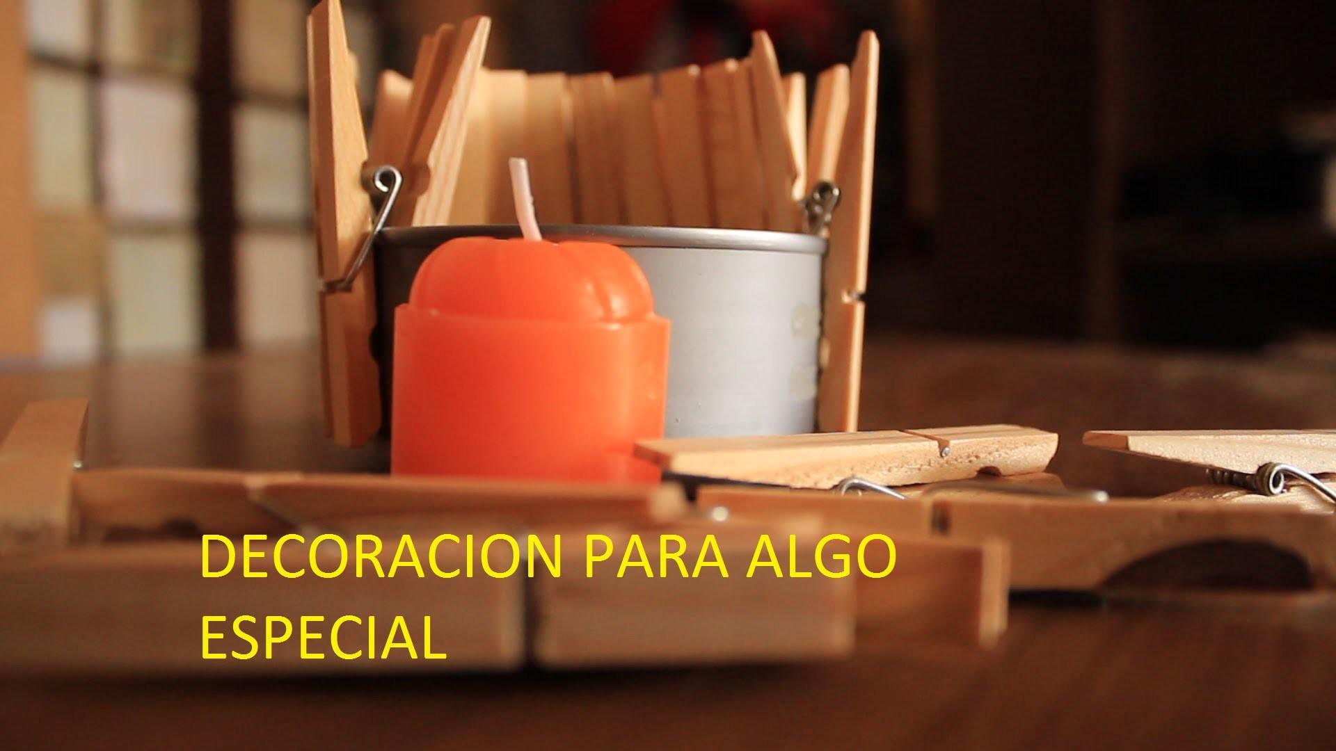 COMO HACER CENTROS DE MESA | VELAS | FLORES | DIY - LADY