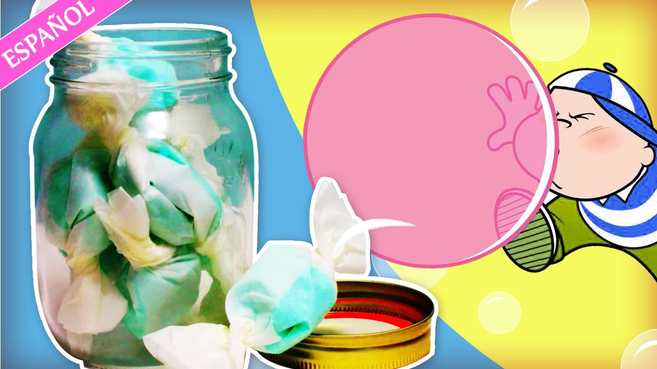 Cómo hacer Chicle |  How to make Bubble Gum | Hooplakidz Espanol