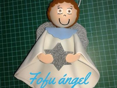Como hacer un fofucho ángel