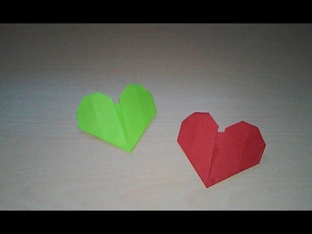 Corazón de papel sencillo | origami [1]