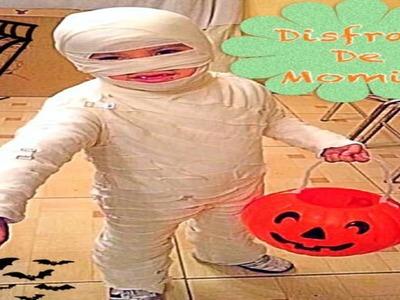 Elaborando Disfraz De Halloween (( Momia ))