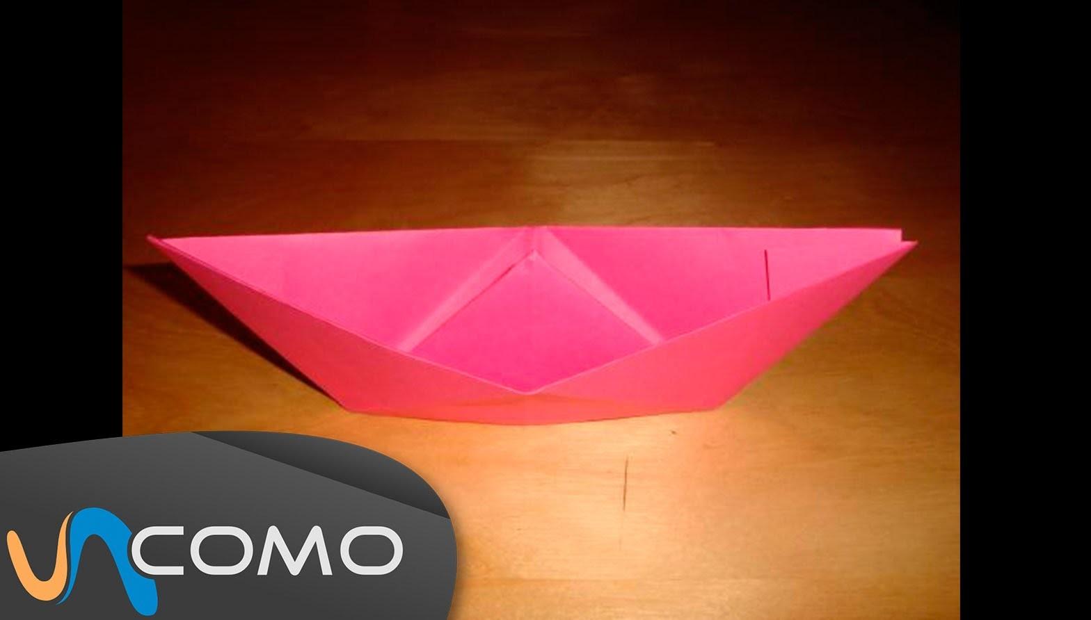 Hacer un barco de origami