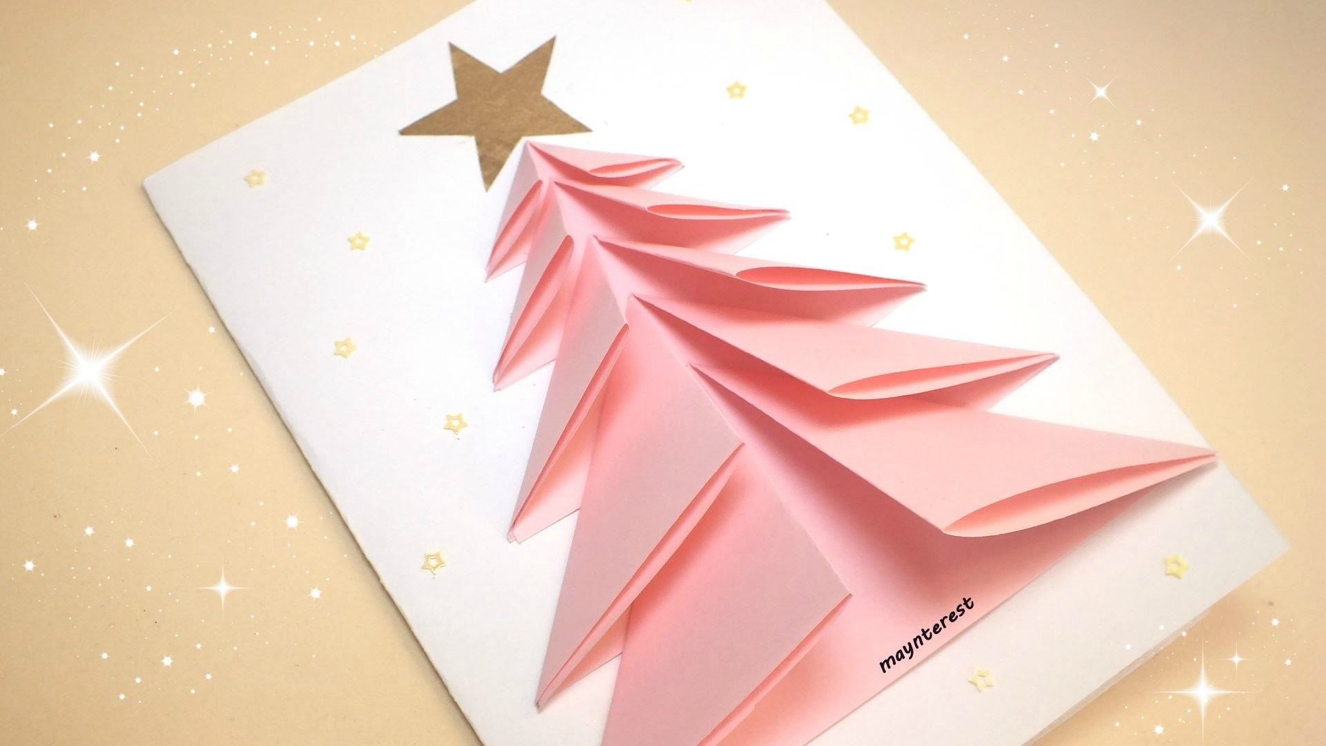 Manualidades navidad tarjeta de felicitaci n navide a - Hacer una tarjeta navidena ...