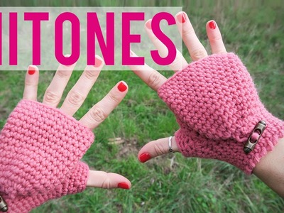 Mitones de ganchillo | Fingerless gloves | Mittens