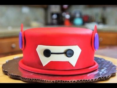 PASTEL BAYMAX (BIG HERO 6 CAKE) - BAKING DAY