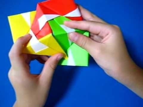 Pelota triangular en origami