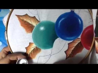 Pintura en tela esferas # 3 con cony