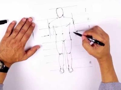 PUCP - ¿Cómo dibujar un cuerpo humano?