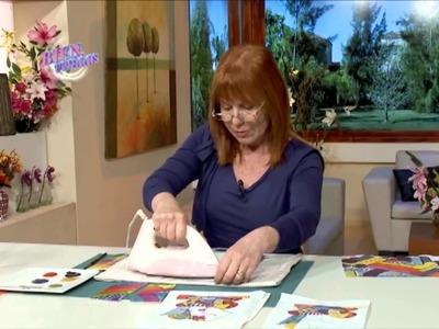 Sublimación Textil - Adriana Dadamo en Bienvenidas Tv