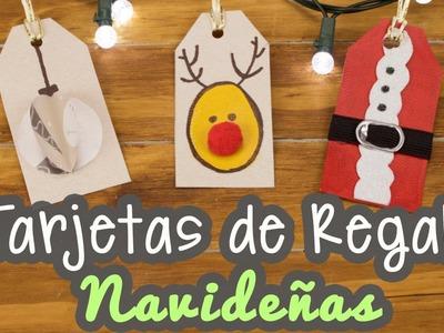 Tarjetas Navideñas - Creativas para Regalar - 3 Ideas - Etiquetas para Regalos | Catwalk