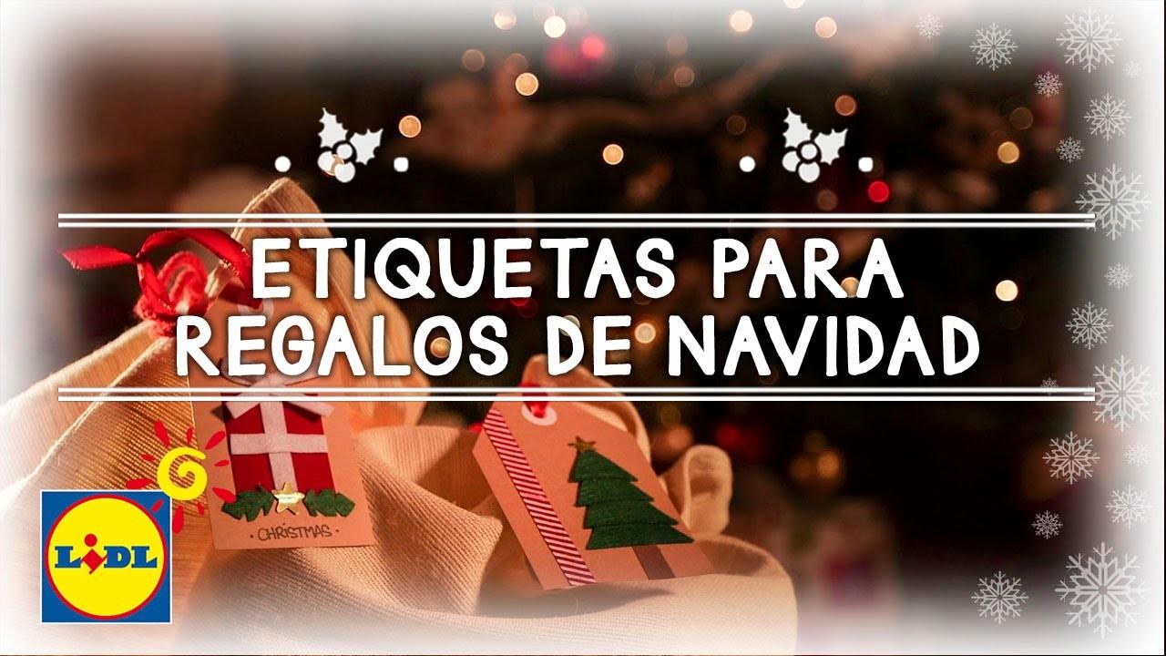 Etiquetas Para Regalos De Navidad - Navidad Handmade