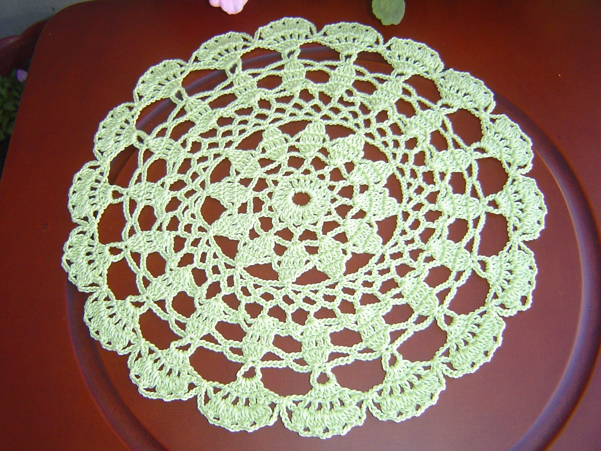 Como tejer Tapete, Carpeta redondo a crochet  tutorial  DIY