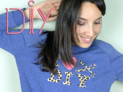 Jersey I love DIY | Customiza un jersey paso a paso