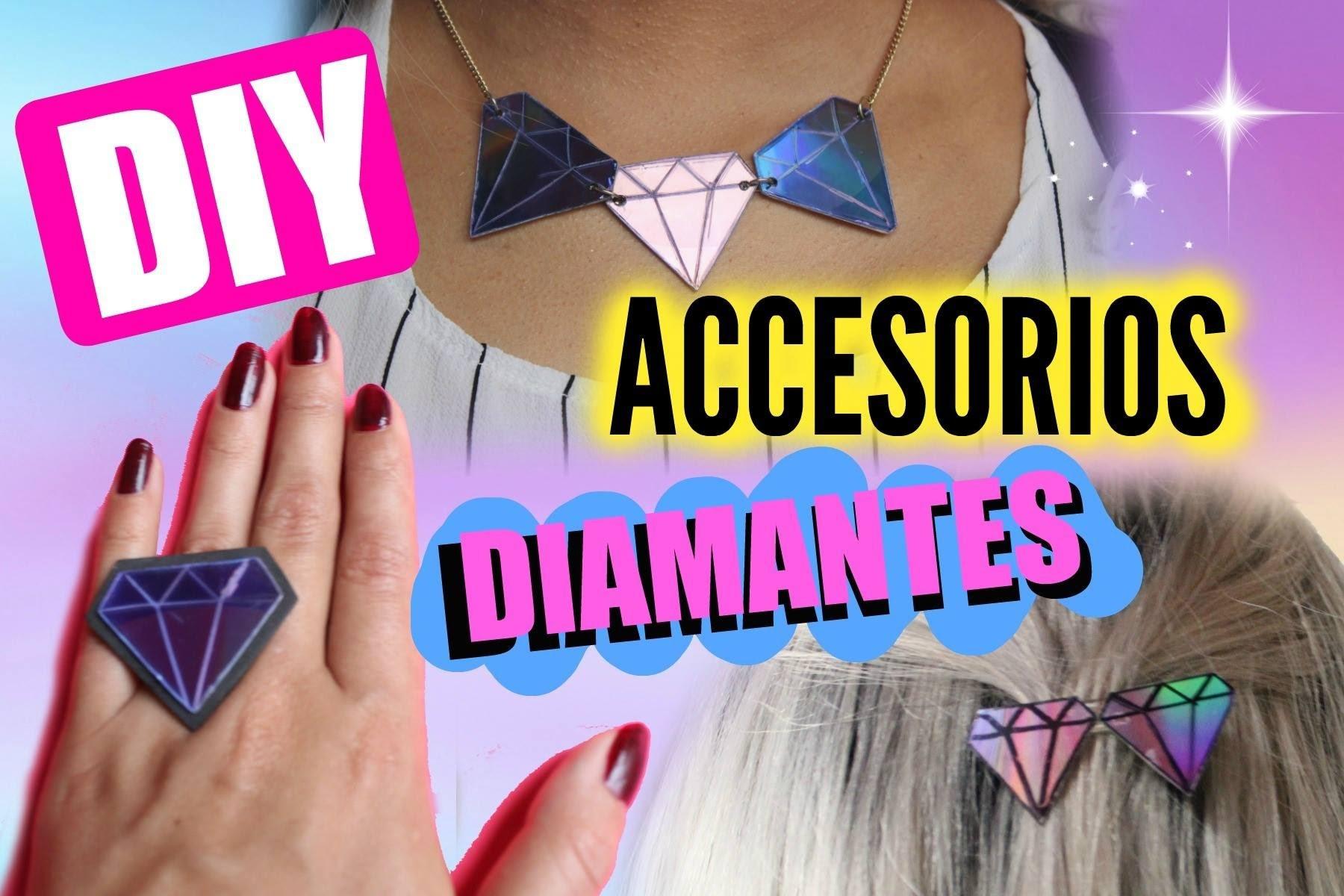 DIY accesorios diamantes