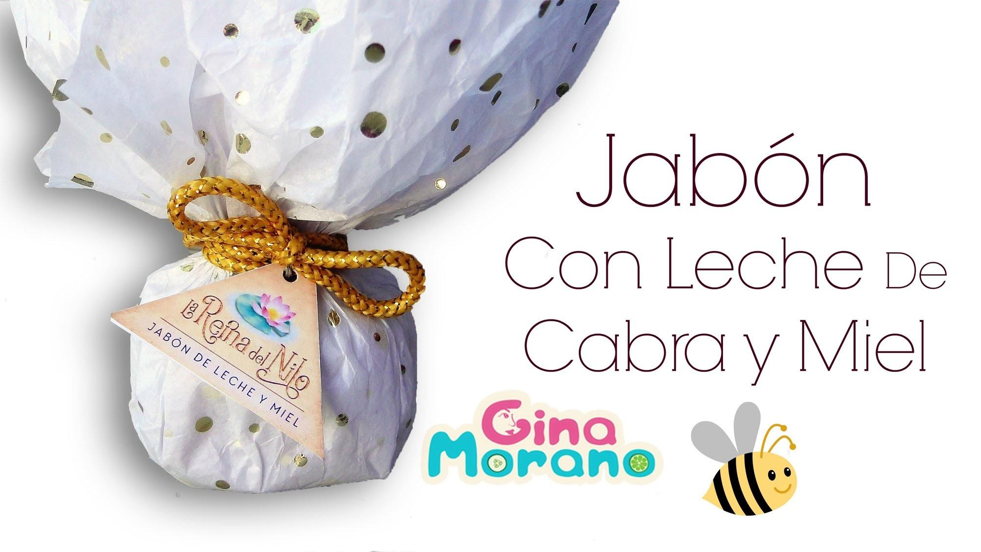 DIY Jabon con leche y miel (Kit para baño La Reina Del Nilo).