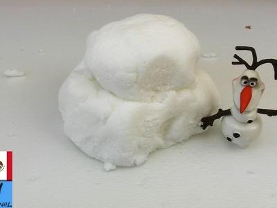 DIY Nieve casera | ¡Se siente como nieve real!