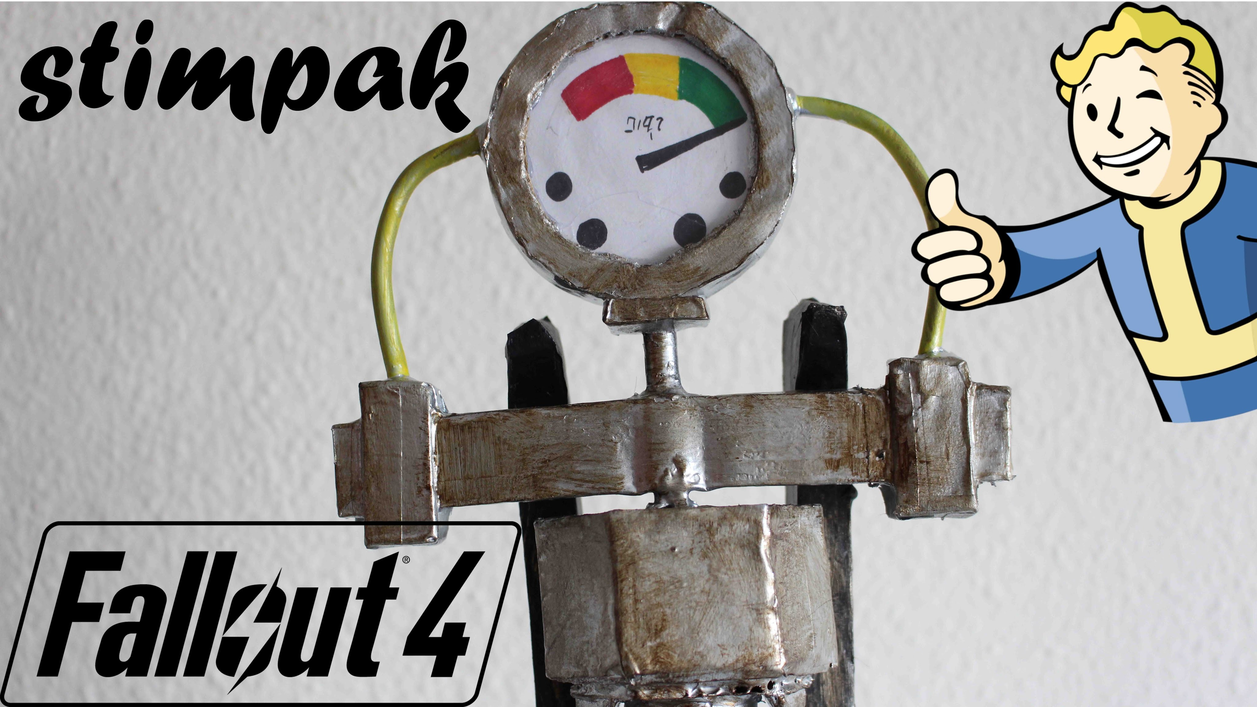Fallout 4 : Stimpak DIY - Dcrafting